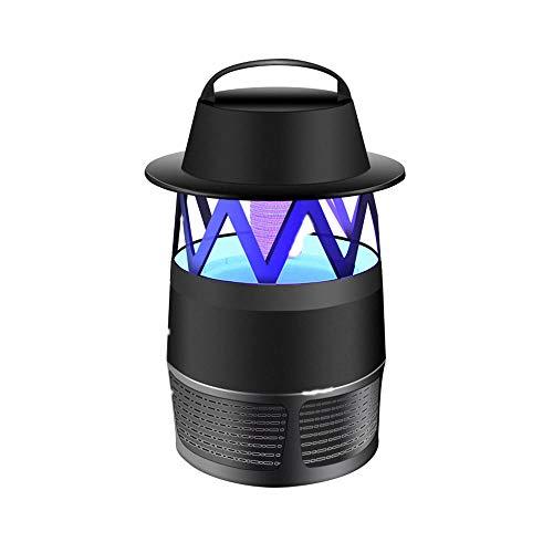 Lampe Anti-Moustique,Tueur De Moustique avec LumièRe UV,pour La Lutte Contre Les Insectes Chargement USB pour La Cuisine Domestique Jardin Utilisation IntéRieure/ExtéRieure-Noir
