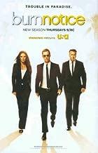 Burn Notice: USA TV New Season: Sexy Gabrielle Anwar, Jeffrey Donovan, Bruce Campbell: Great Original Photo Print Ad!