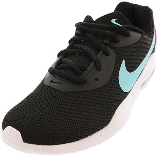 Nike Women's Air Max Oketo Sneaker, 9, Black/Aurora Green-Pink Blast