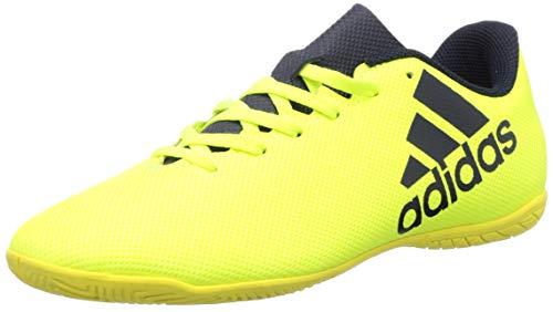 adidas X 17.4 In, Zapatillas de Fútbol Hombre, Multicolor (Solar Yellow/Legend Ink/Legend Ink), 44 EU