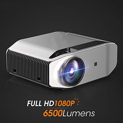AFGH proyector Proyector Full HD Nativo 1920 x 1080P 3DWiFi Multi-Pantalla HDMI USB Mini Cine en casa