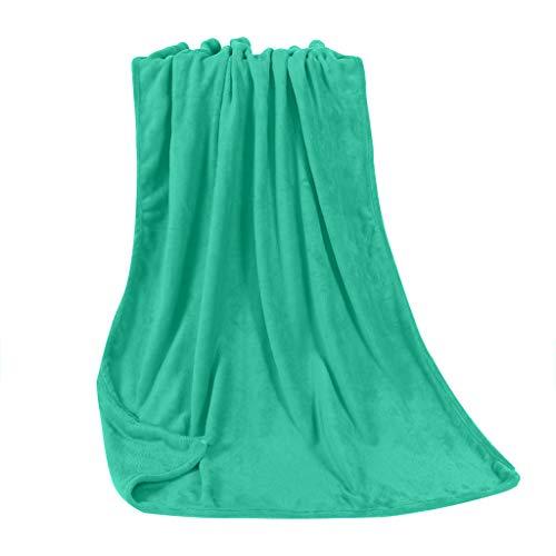 LUCKDE-Damen Kuscheldecke Flauschige Decke,Flanell Fleecedecke Microfaser Mikrofaserdecke Wohndecke, Falten beständig/Anti-verfärben als Sofadecke oder Bettüberwurf