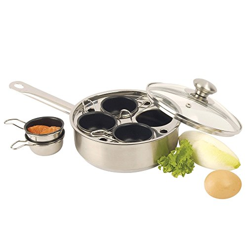 Demeyere 4-Cup Egg Cooker/Poacher