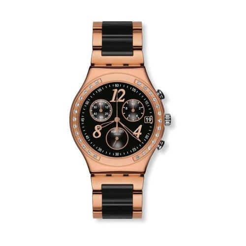 Swatch Reloj de Cuarzo Woman DREAMNIGHT Rose YCG404G 40 mm