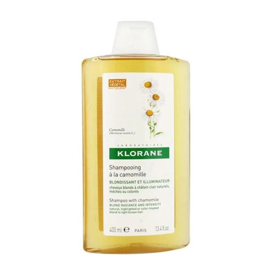 備品振り返る見せますKlorane Shampoo With Camomile 400ml [並行輸入品]