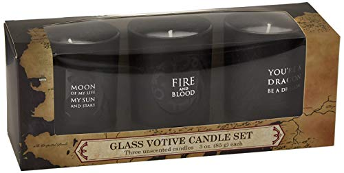 Game of Thrones: Glass Votive Candle Pack (Set of 3)