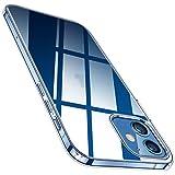 TORRAS Crystal Clear Hülle Kompatibel mit iPhone 12 Pro und für iPhone 12 Durchsichtig Dünn...