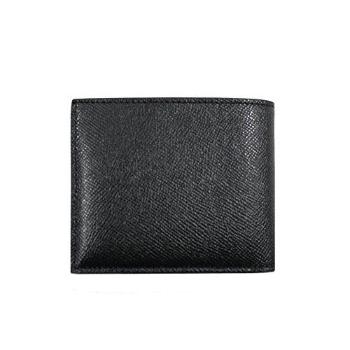 (コーチ)COACHアウトレット二つ折り財布メンズCOMPACTIDクロスレーンレザーブラックF59112[並行輸入品]