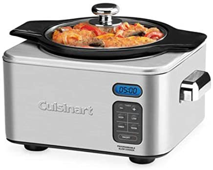 Cuisinart PSC-400A Programmable Slow Cooker, Silver