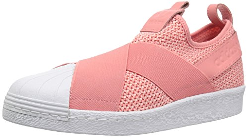 adidas Originals Superstar Slip On, Zapatillas Deportivas. Mujer, Rosa Taktile Taktile Rosa Blanca, 37 1/3 EU