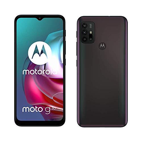Motorola G30 – Ecran 6,5 HD+ 90Hz – système 64MP quadruple camera – Batterie 5000 mAh – 128Go