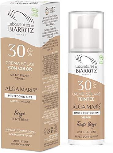 Alga Maris - Lab. Biarritz Crema Facial Color Beige Spf30 50Ml. 50...
