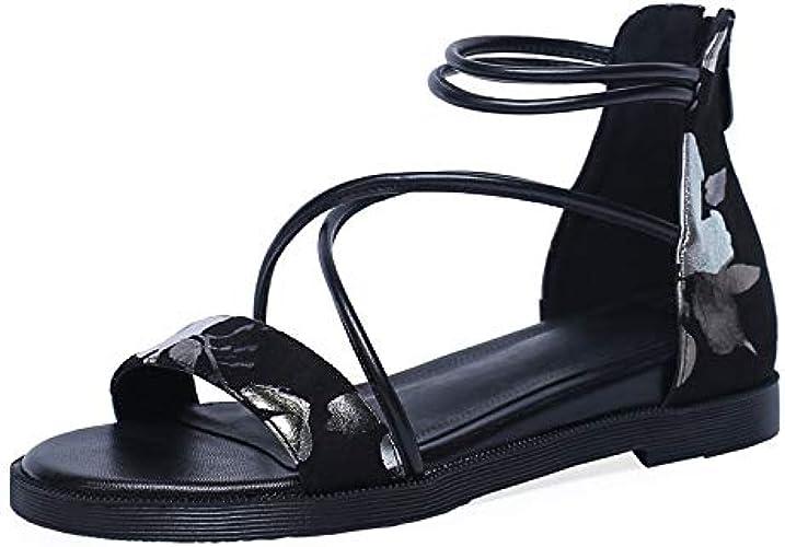 HommesGLTX Talon Aiguille Talons Hauts Sandales Mode Mixte Couleurs Retour Zipper Femmes Sandales Design Vintage PU en Cuir Femmes Talons Hauts Bureau Lady Chaussures De Base Femme
