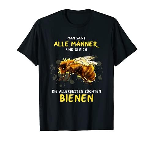 Herren Imkern als Hobby Biene Geschenk Imker Anfänger Bienen Zucht T-Shirt