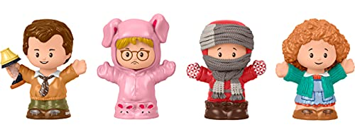 Fisher-Price Little People Collector A Christmas Story, Special Edition Figure Set with 4 Characters from The Classic Holiday Movie