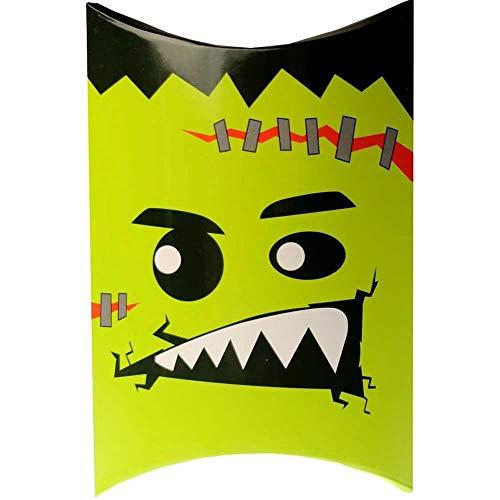 5個セット ハロウィン お菓子 業務用 詰め合わせハロウィンお菓子 ギフト巾着バッグ ばらまき 飴 個包装 大量 詰め合わせ 市販 子供 ノベルティ ハロウィーン かぼちゃ お菓子 業務用 配る 安い 大量 包装 プチギフト おしゃれ に最適 (フランケン
