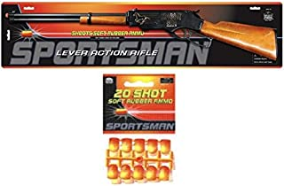Speedy Kid Lever Action Toy Airsoft Gun with 20 Soft Rubber Ammo