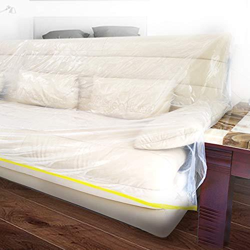 【 】 Cubierta de Muebles, protección contra el Polvo desechable a Prueba...