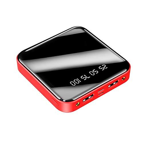 Happy Forward Store Mini Power Bank Batería Externa de 20000mAh Carga rápida, energía móvil más pequeña y Liviana, con indicador LCD de Estado, Compatible con Todos los teléfonos Inteligentes