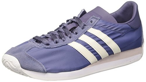 adidas Damen Country OG Sneakers, Violett (Super Purple/Off White/FTWR White), 39 1/3 EU