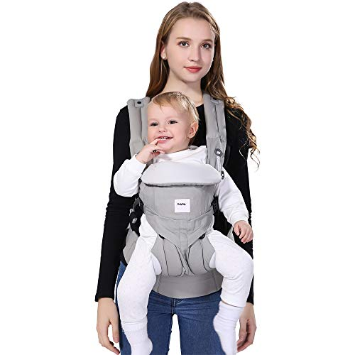 Baby Carrier with Storage Bag Multifunction Front Pack Baby Carriers for Newborns Adjustable Soft Carrier Adapt to 0 to 48 Months