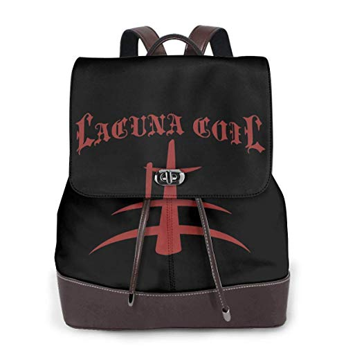Yuanmeiju Lacuna Coil Womens Leather Multifunction Backpack