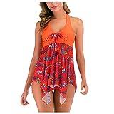 Vectry Traje de Baño Sexy Mujer 2019 Braga Bikini Bañador Premama Tankini Mujer Bañadores Ropa de Playa para Mujer Rojo Bañadores