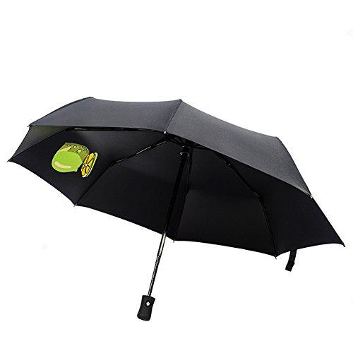 "Windproof Travel Umbrella Aguder Golf Umbrellas,""Unbreakable"" Lightweight 8 Ribs Automatic Windproof Canopy Compact Auto Open Close, Black"