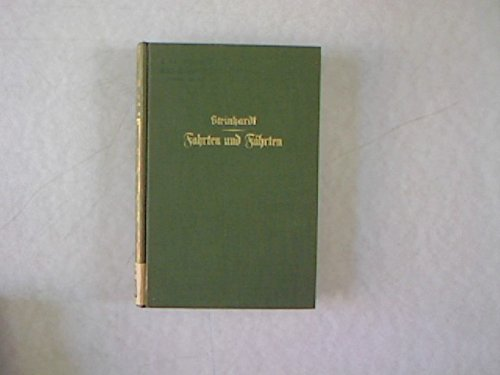 Steinhardt Fahrten und Fährten, Erlebnisse in afrikanischer Steppe, Parey 1928, 182 Seiten, Deutschsüdwestafrika