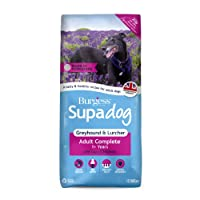 Burgess Supadog Greyhound & Lurcher is a dry, complete dog food, suitable for greyhounds and lurchers kept as pets. Suitable from the age of 1. Made with prebiotics to help support healthy digestion. Glucosamine helps to support healthy joints. Essen...