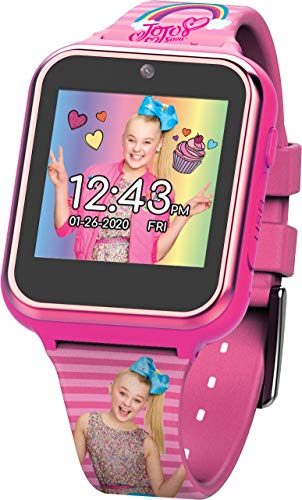 JoJo Siwa Touchscreen Interactive Smart Watch (Model: JOJ4128AZ)