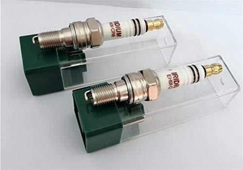 KUANGQIANWEI Spark Plug Iridium Spark Plug EHIX-CR8 4pcs for UH4CC UH5CC C8EH-9 C8EH9 CR8EH9 CR8EH-9 CR8EHV CR8EHIX-9 IUH24 U24FER-9 U24FER9