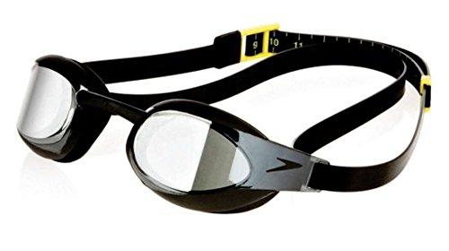 Speedo Fastskin3Elite antidestellos Gafas de natación Racing Competencia–Negro