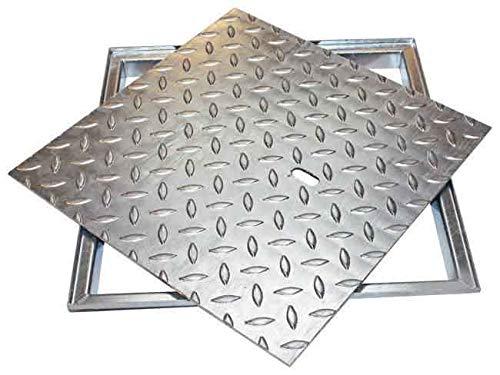 ACO FI 2.0 Easy, Stahl verzinkt, 5 kN, Maße Schachtdeckel:400 x 400