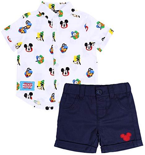 Chemise et Short Mickey Disney 12-18 Mois