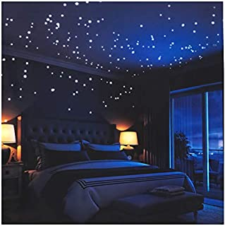 Glow in The Dark Stars Wall Stickers,252 Adhesive Dots...