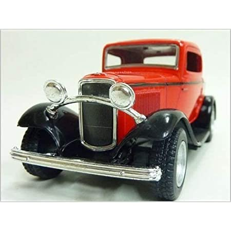 Kinsmart 1:34 Scale 1932 Ford 3 Window Coupe, Color May Vary