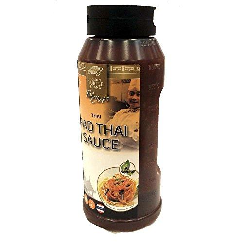 Golden Turtle Brand 'For Chefs' Pad Thai Sauce 1000ml Flasche (Soße für gebratene Reisnudeln)