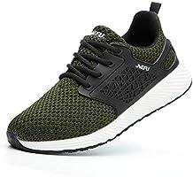 Veligheidsschuoenen Heren Dames Werkschoenen Safety Shoes S3 Lichtgewicht Ademend Sportief Beschemende Schoenen Stalen...