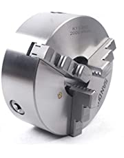 K11-160 / 200 mm de alimentación de tres mordazas, portabrocas giratorio, varillaje manual de alta precisión CNC, portabrocas de tridentes autocentrado