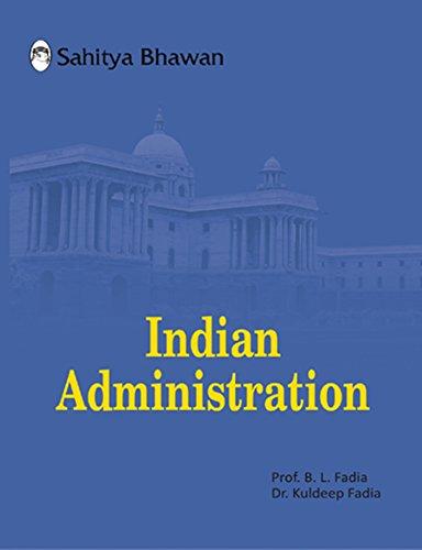 Indian Administration Sahitya Bhawan B L Fadia