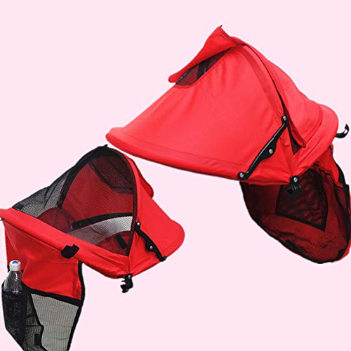 Toldo universal para cochecito, parasol para cochecito, protección UV