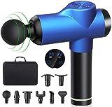 Massagepistole, Aibeau Massage Gun für Nacken Schulter Rücken Muskel Massagegerät Elektronische...