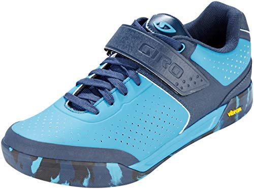 Giro Chamber II, Scarpe da Ciclismo Donna, Multicolore (Blue Jewel/Midnight 17), 47 EU