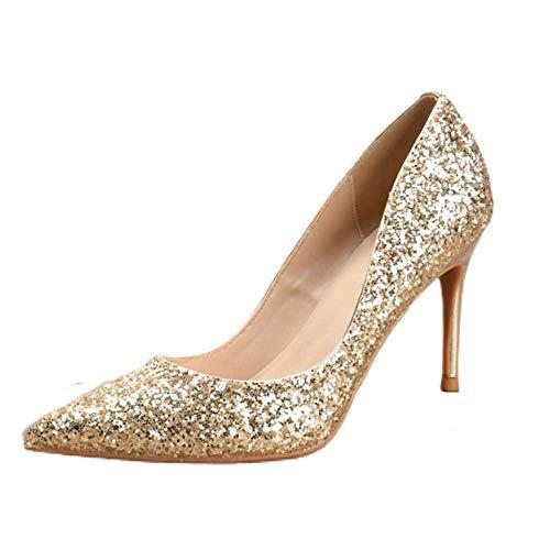 Zapatos de corte con punta cerrada para mujer, con tacón bajo, zapatos...