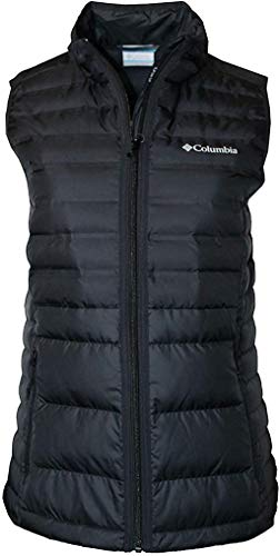 Columbia Women's McKay Lake Down Puffer Vest (Small, Black)