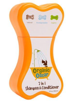 OrganicOscarオーガニックオスカー犬用2in1シャンプー&コンディショナーリンスインシャンプー237ml