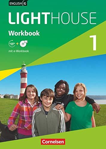 English G Lighthouse - Allgemeine Ausgabe / Band 1: 5. Schuljahr - Workbook mit Audio-Materialien: Workbook mit CD-ROM und Audios online