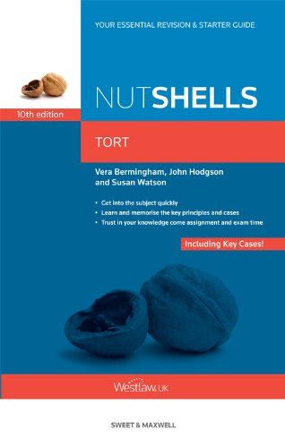 Nutshells: Tort (English Edition)