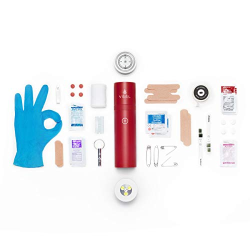 Product Image 4: VSSL First Aid – Compact Adventure First Aid Kit with 46 First Aid Essentials and 4-Mode LED Light
